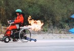 Rocket wheelchair.