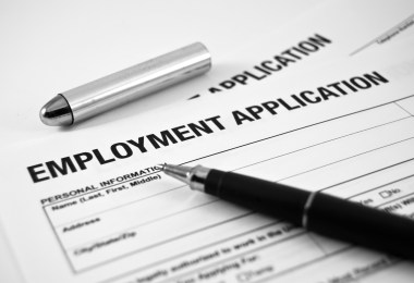Personal care attendant employment application.