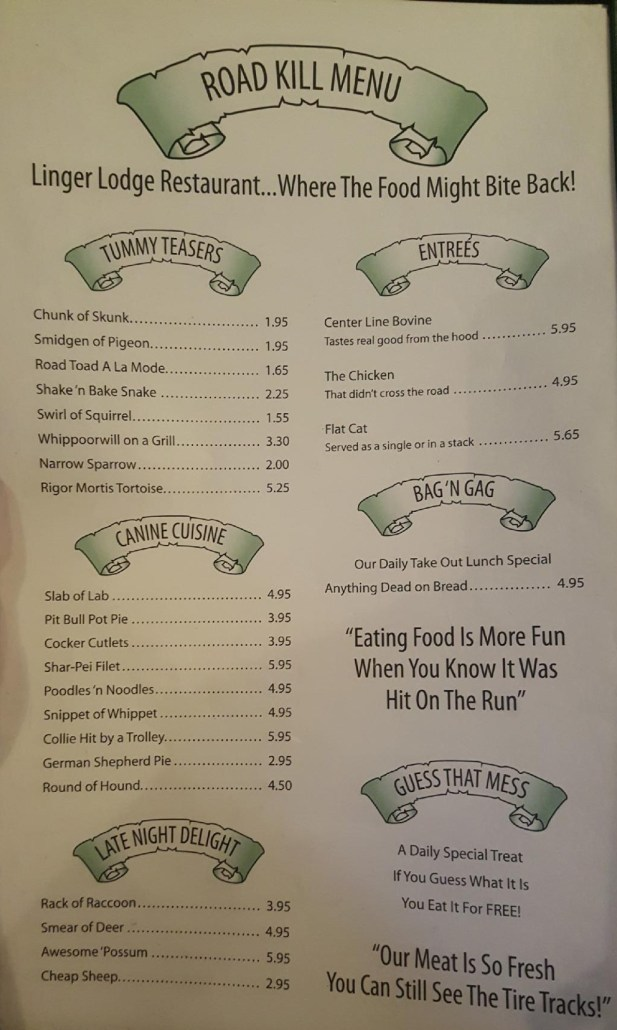 The Linger Lodge restaurant is located just outside Sarasota, Florida and is a great disability friendly destination.