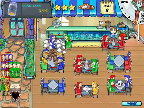 Play Free Restaurant Management Games