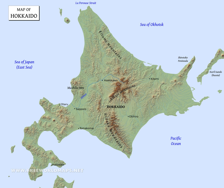 Hokkaido Maps