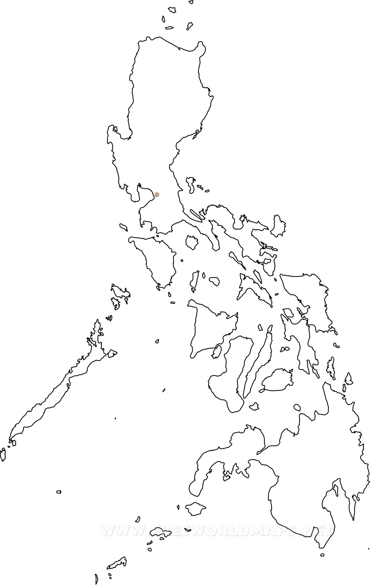 Philippines Country In World Map C Cp