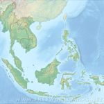 Southeast Asia Physical Map