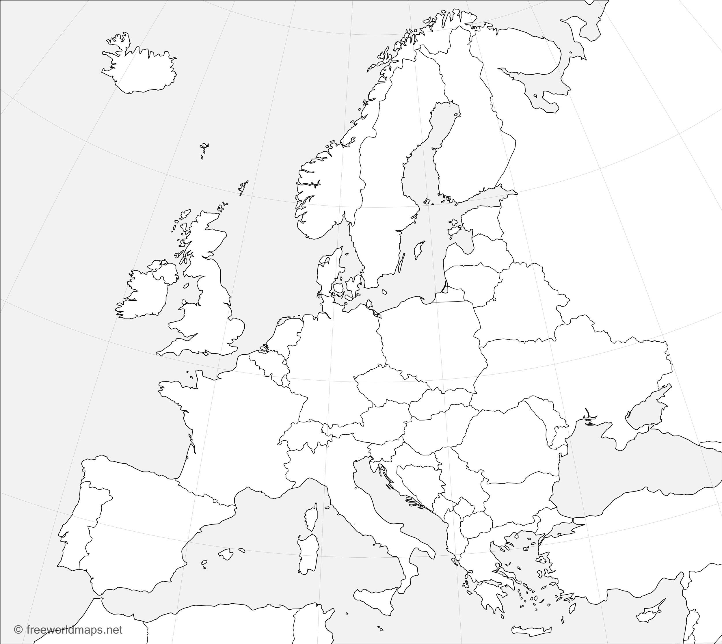 Eu Union Map