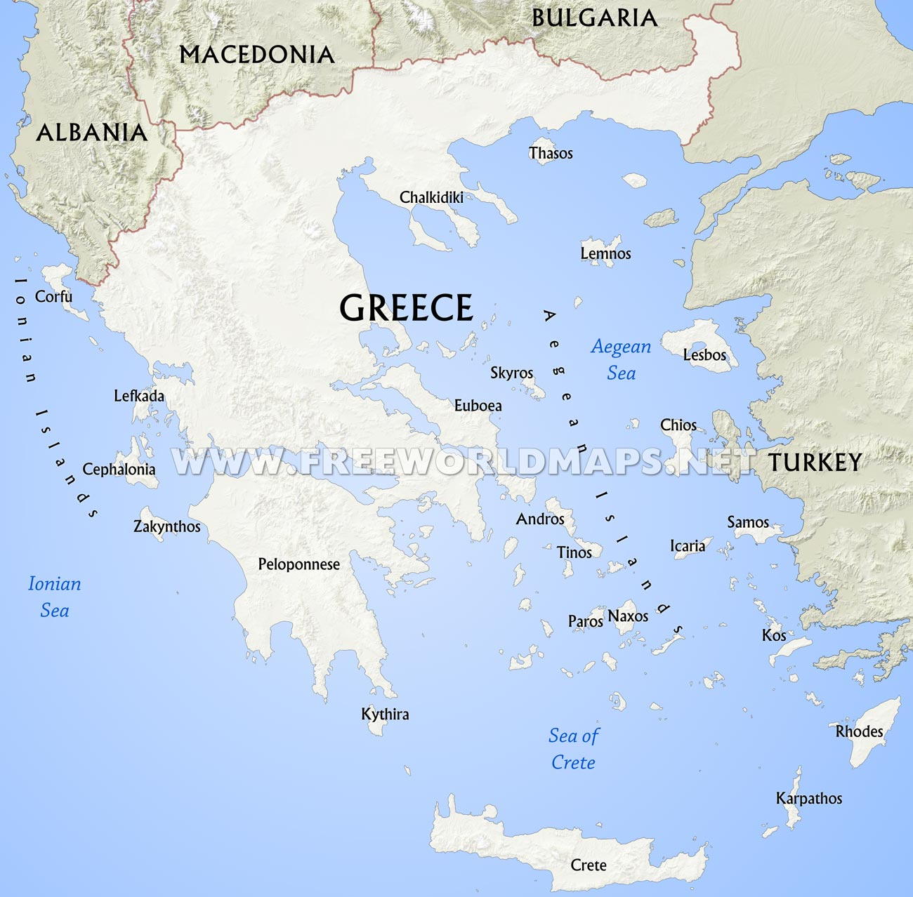 Printable Map Of Ancient Greece That Are Ridiculous