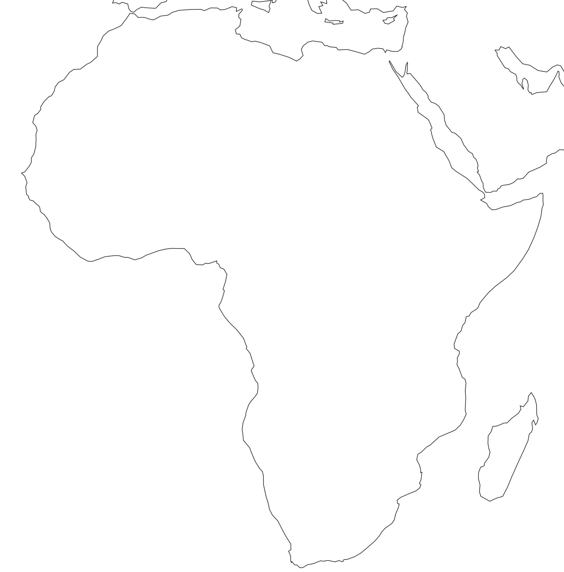 Africa Printable Maps By Freeworldmaps Net