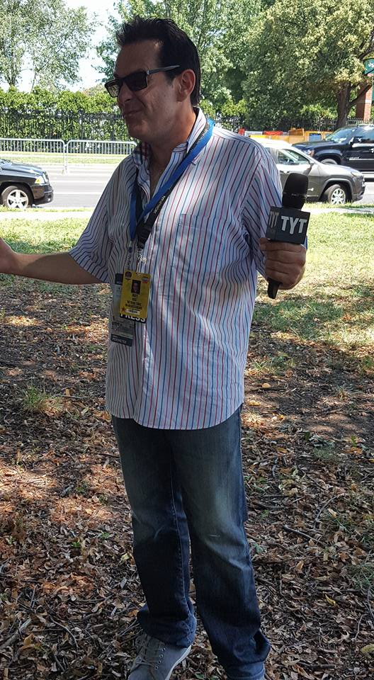 Jimmy Dore of The Young Turks at the DNC Protests in Philadelphia