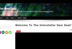 Screenshot of The Interstellar New Deals New Website