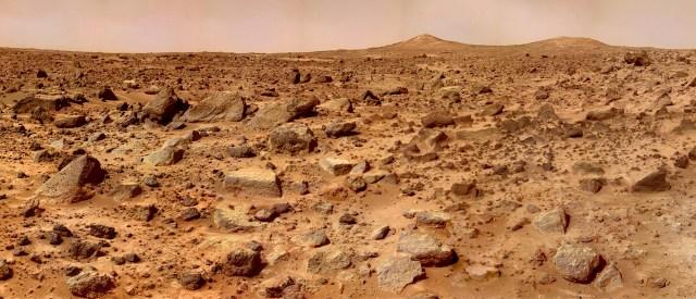 Mars Landscape (from NASA)