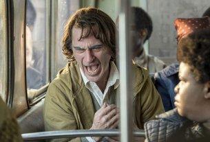 Arthur Fleck Laughing Despairingly on a Bus (Joker 2019)
