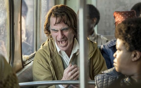 Arthur Fleck Laughing Despairingly on a Bus (Joker 2019)