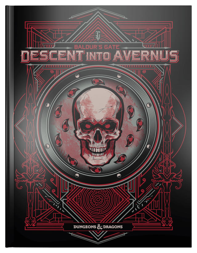 Alternate Book Cover for WotC's adventure path: Balder's Gate: Descent to Avernus