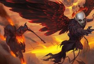 Full Painting for Balder's Gate Descent to Avernus Books Cover