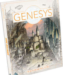 Genesys Book Cover from FFG
