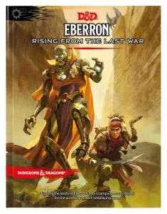 book cover for Eberron - Rising from the Last War