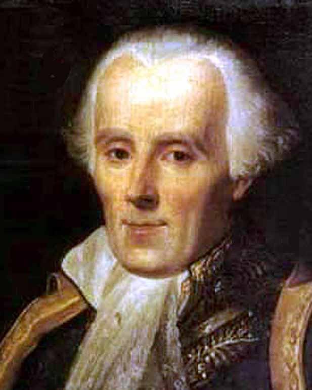 Pierre Simon Marquis de Laplace - bust