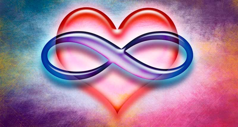 Polyamory Symbol (infinity symbol over heart)