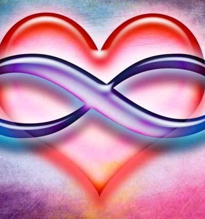 Polyamory Symbol (infinity symbol over heart)