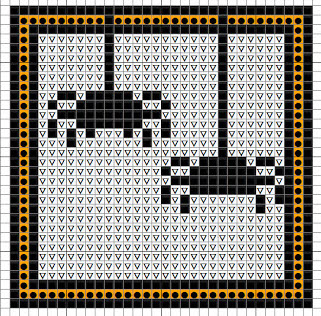 spiders free cross stitch pattern for halloween