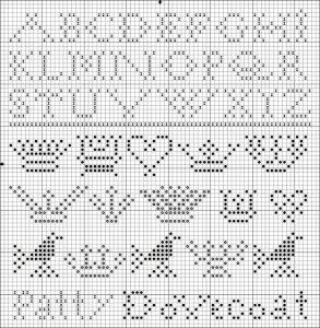 free sampler cross stitch pattern from Kathy Barrick