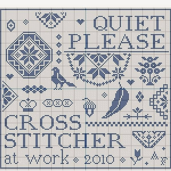 Quiet Please, Stitcher at Work