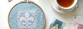 Fleur De Lis Freebie by Sew French