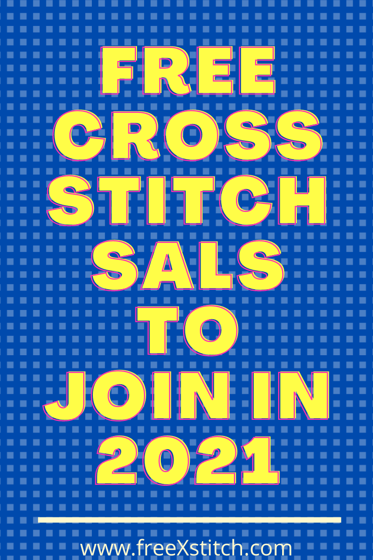 Free Cross Stitch SALs to Join in 2021