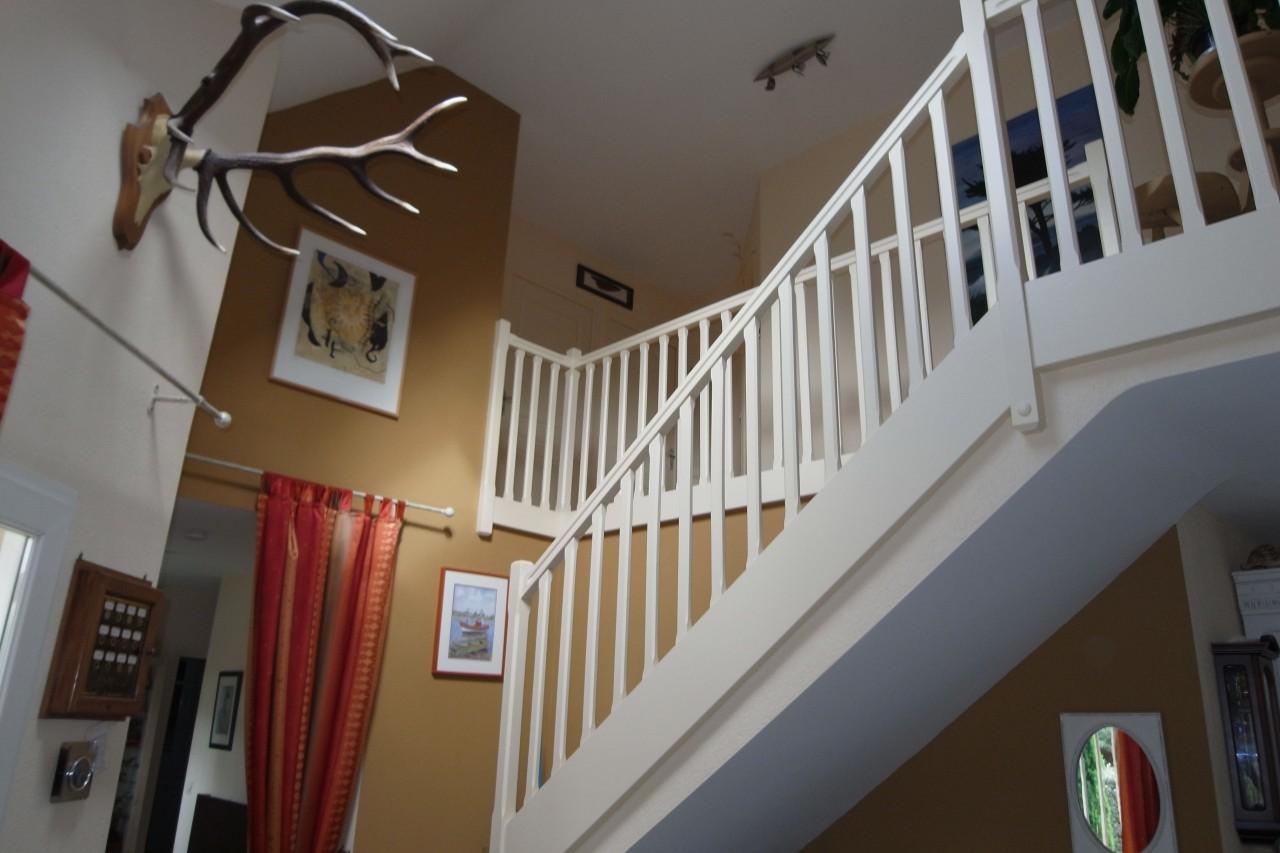 Hall Dentre Cage Escalier Peinture Frehel Deco