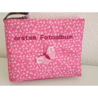 Fotoalbum Schmetterling pink