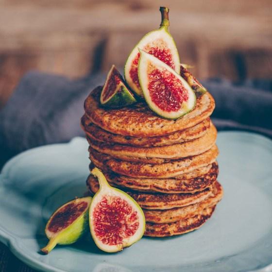 Chia Oat Pancakes