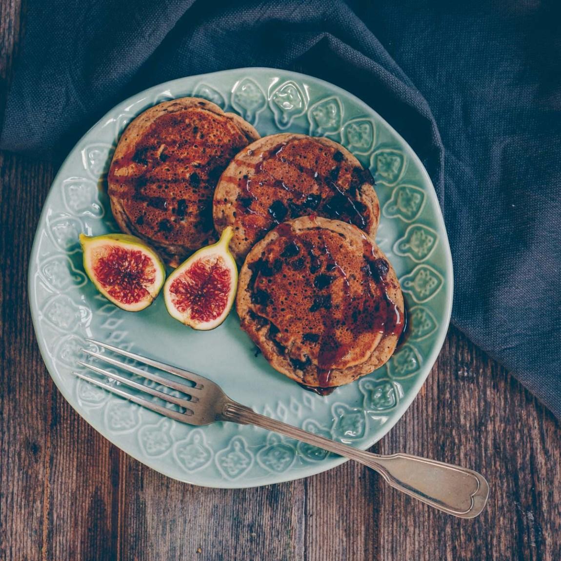Chia Coconut Pancakes