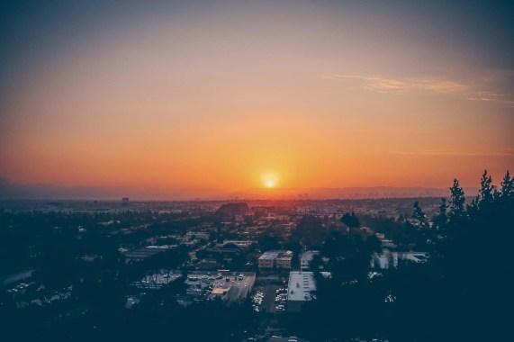 Sonnenuntergang Los Angeles