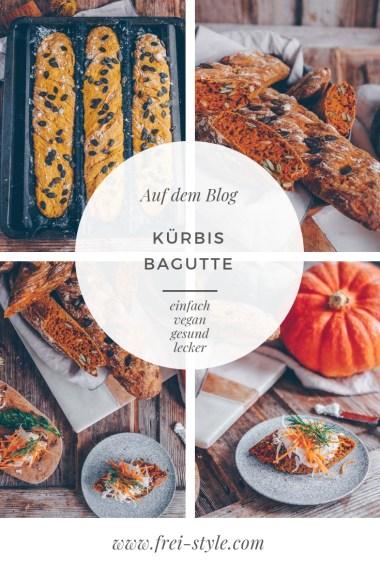 Kürbis Baguette