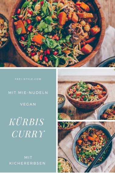 Kürbis-Curry mit Mie-Nudeln