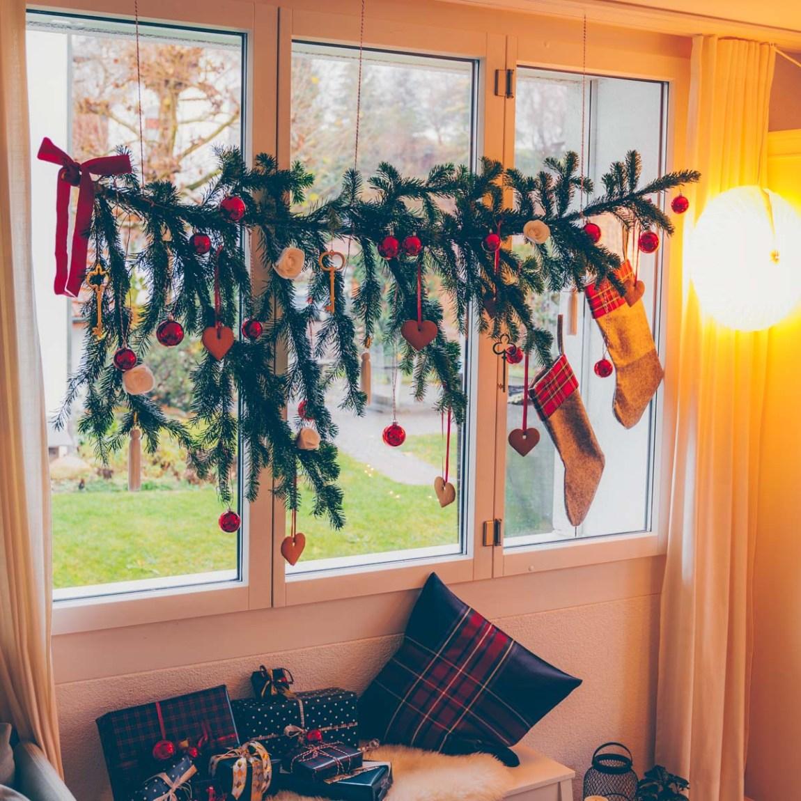 Tannenast Weihnachten