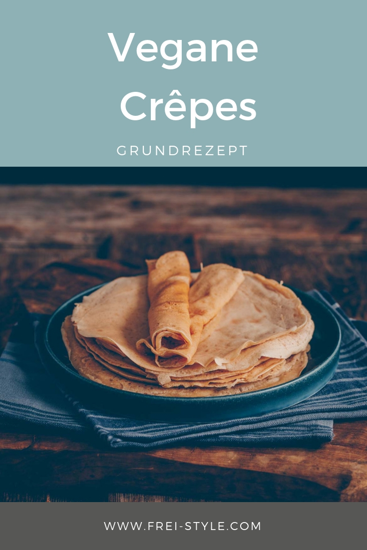 Vegane Crêpes - Grundrezept