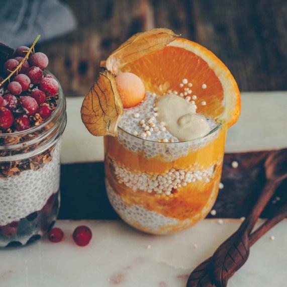 Chia Pudding mit Mango