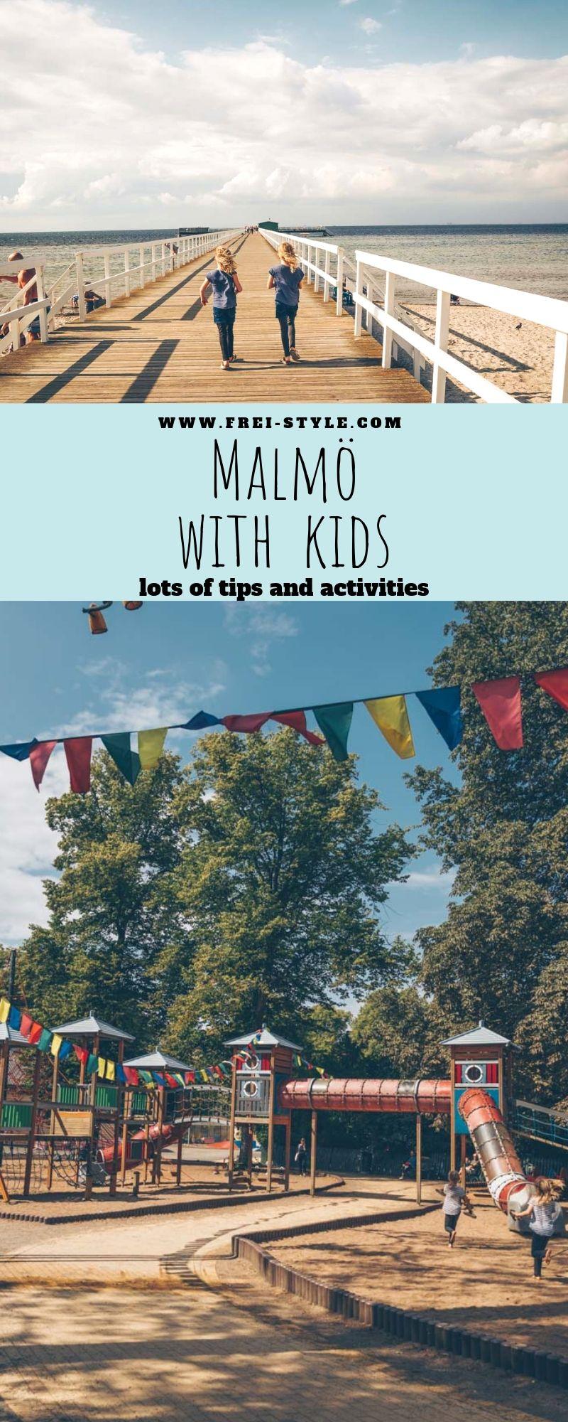 Malmö with kids