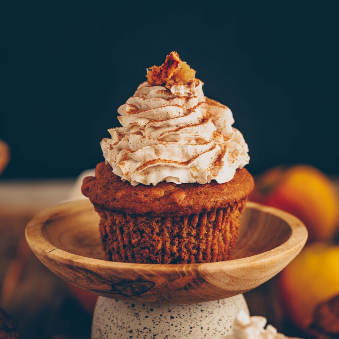 Apfel-Zimt Muffins vegan