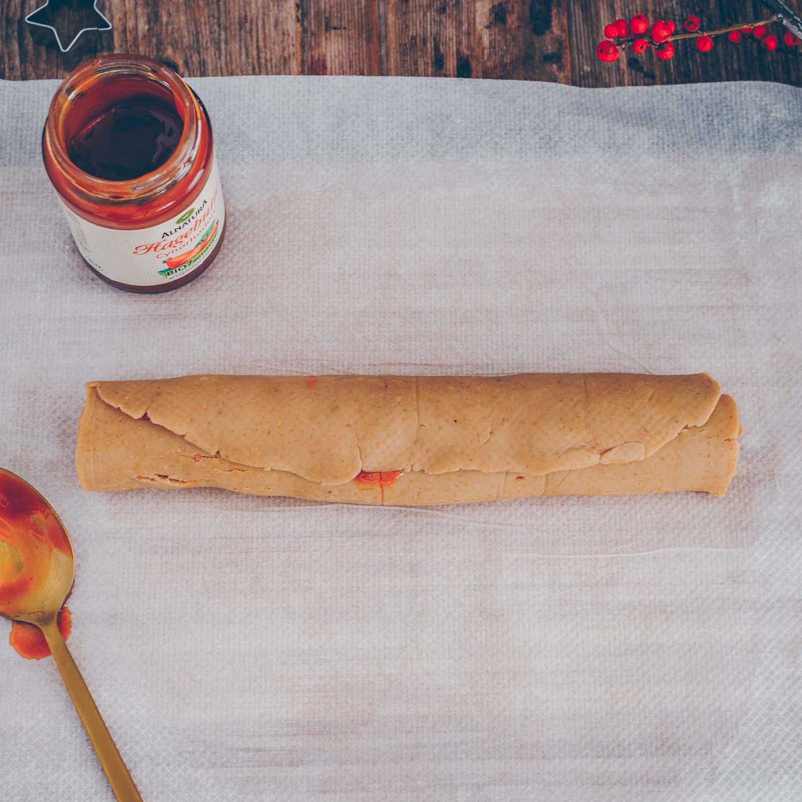 Vegane Marmeladen-Plätzchen