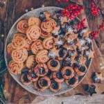 vegane Plätzchen – 1 Teig und 3 Sorten