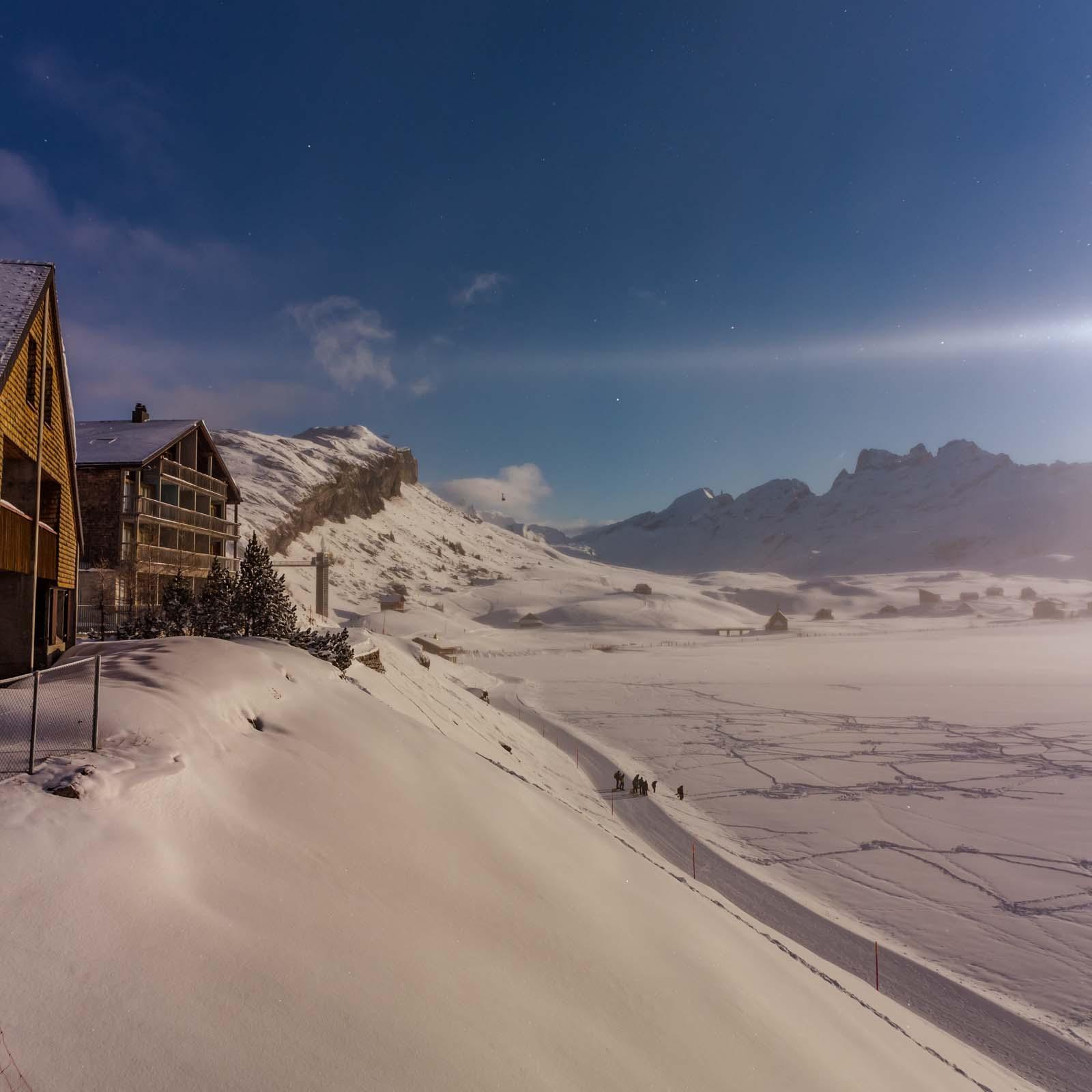 Ein Schnee Wochenende in Melchsee-Frutt