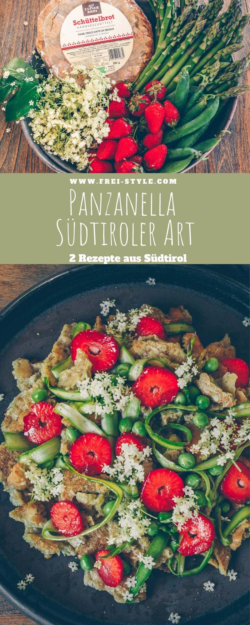 Veganer Panzanella - 2 Rezepte aus Südtirol