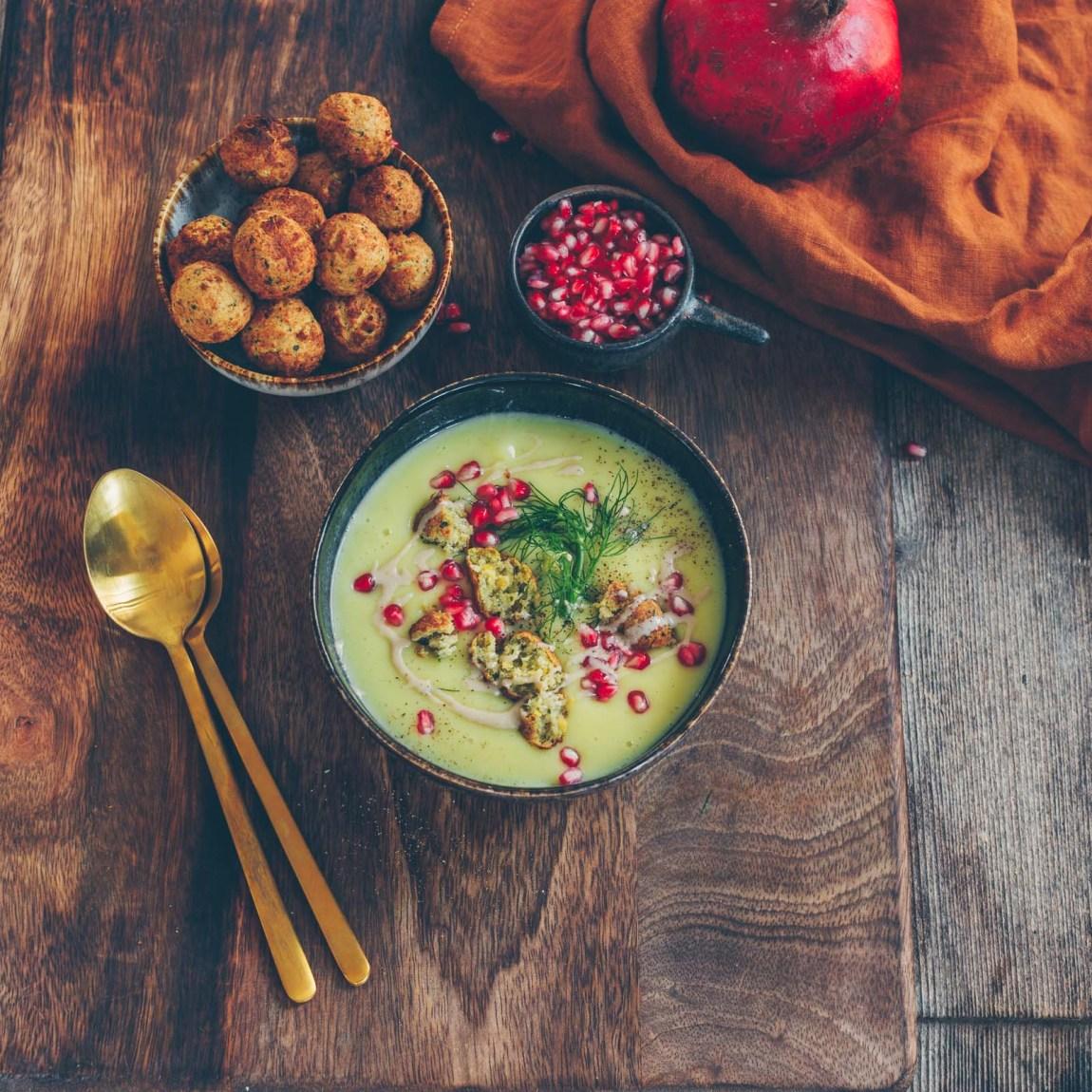 Blumenkohl-Kartoffel Suppe