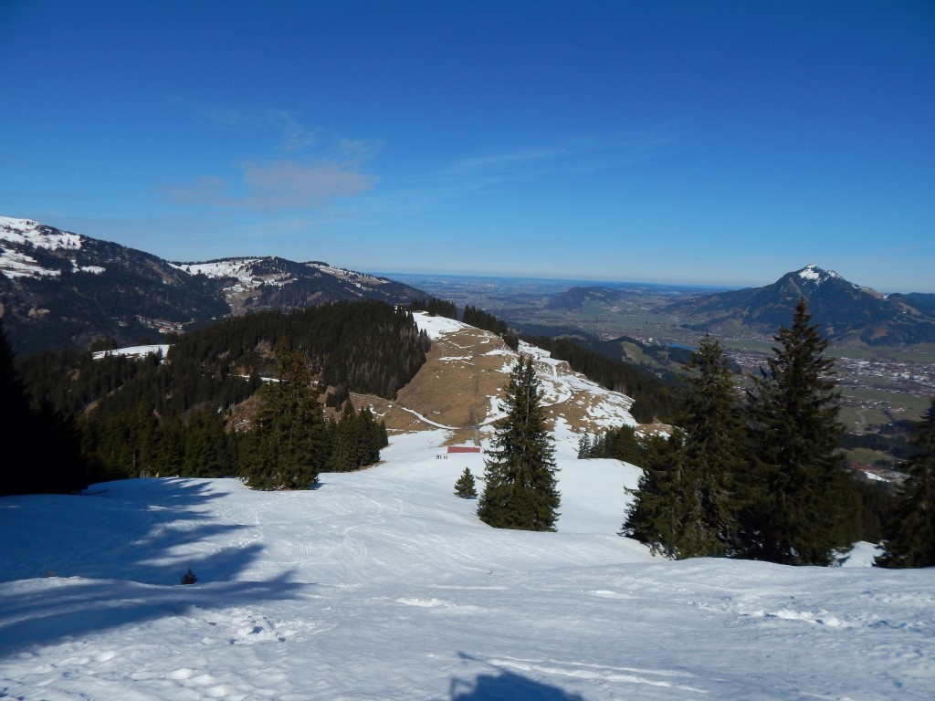Ofterschwanger Horn und Sigiswanger Horn - Schneeschuhwanderung im Gunzesrieder Tal im Allgäu