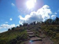 Aufstieg zum Hohneck