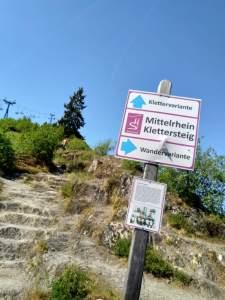 Mittelrhein-Klettersteig Boppard