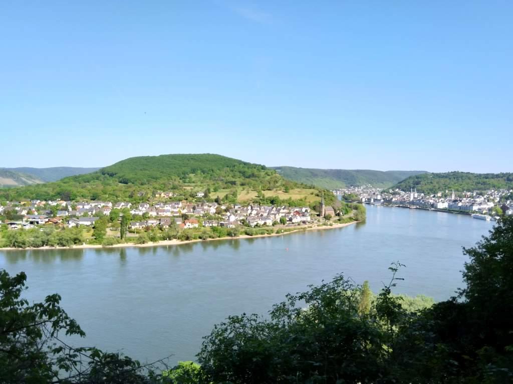 Klettersteig Rhein Boppard : Mittelrhein klettersteig boppard