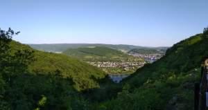 Vierseenblick Mittelrhein-Klettersteig Boppard