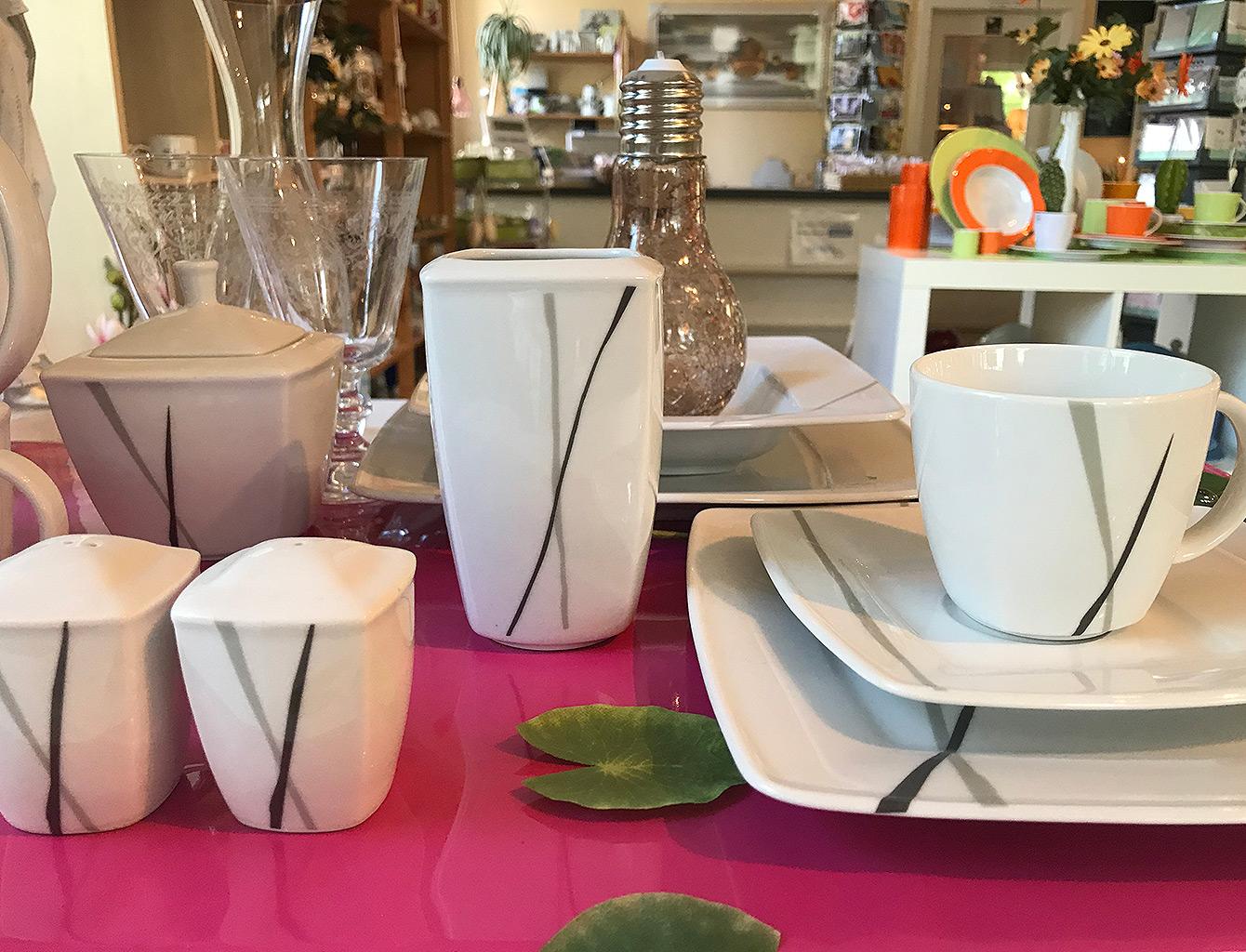 Freiberger Porzellan Hochzeitstisch